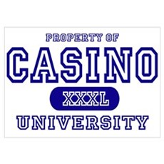 Casino University Property Poster