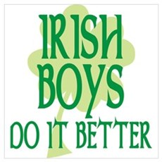 Irish Boys Do It Better Poster