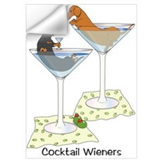 Cocktail Wieners (duo) Wall Decal