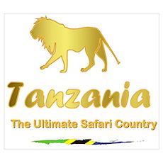 Favorite Safari Country Poster