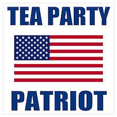tea party patriot Poster