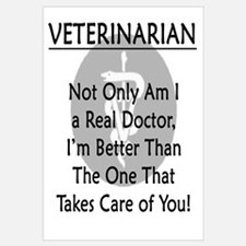 Veterinarian A Real Doctor