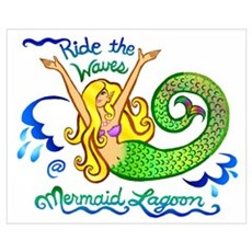 Mermaid Lagoon Poster