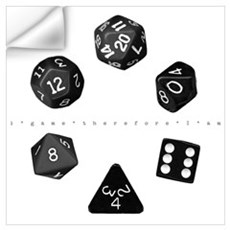 Dice Ring Wall Decal