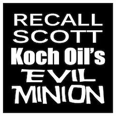 Recall Governor Rick Scott Poster