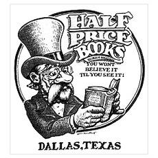 """Half Price Books"" Poster"