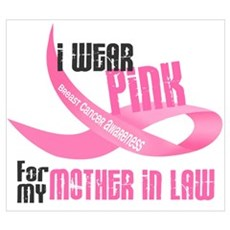 I Wear Pink For My Mother-In-Law 33 Canvas Art