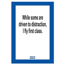 Driven to Distraction 11 x 17 Print Framed Print