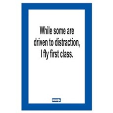 Driven to Distraction 11 x 17 Print Poster