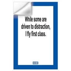 Driven to Distraction 11 x 17 Print Wall Decal