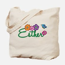 Esther Flowers Tote Bag