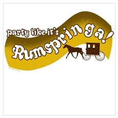 Party Like It's Rumspringa Poster