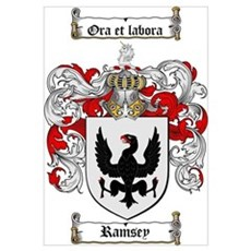 Ramsey Family Crest Poster