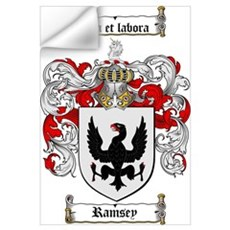 Ramsey Family Crest Wall Decal