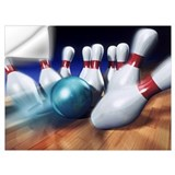 Bowling Wall Decals