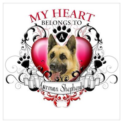 My Heart Belongs to a German Poster