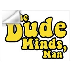 The Big Lebowski The Dude Minds Man Pr Wall Decal
