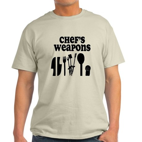 Chef's Weapons Light T-Shirt