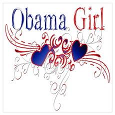 Obama Girl Poster