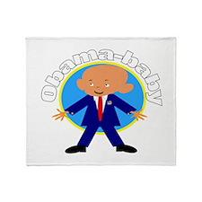 Obama baby 9 Throw Blanket