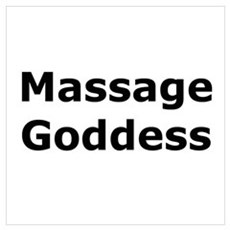 Massage Goddess Poster