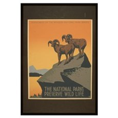 The National Parks Preserve W Canvas Art