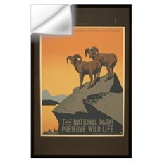 The National Parks Preserve W Wall Decal