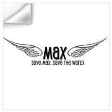 Max- Save Max, Save the World Wall Decal