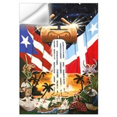 NEW!!! PUERTO RICAN PRIDE Wall Decal