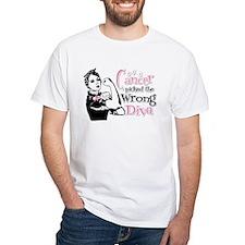 Wrong Diva Breast Cancer Shirt