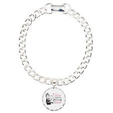 Wrong Diva Breast Cancer Bracelet