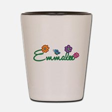 Emmalee Flowers Shot Glass