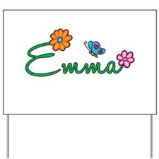 Emma Flowers Yard Sign