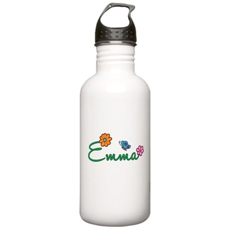 Emma Flowers Stainless Water Bottle 1.0L