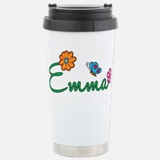 Emma Flowers Travel Mug