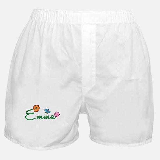 Emma Flowers Boxer Shorts