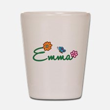 Emma Flowers Shot Glass