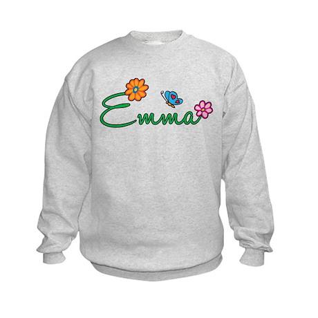 Emma Flowers Kids Sweatshirt