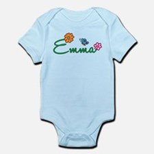 Emma Flowers Infant Bodysuit