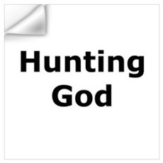 Hunting God Wall Decal