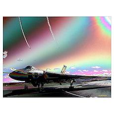RAF Vulcan Aero-Art Poster