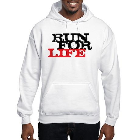 Run for Life Hooded Sweatshirt