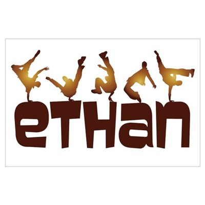 Street Dancing - ETHAN Poster