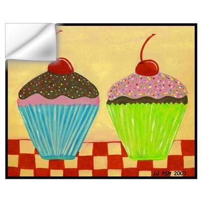 Just The Two of Us: CUPCAKES Wall Decal