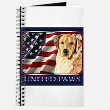 Golden Retriever United Paws Journal