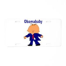 Obama baby 11 Aluminum License Plate