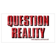 Question Reality Poster
