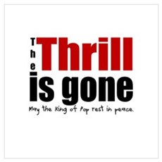 The Thrill is Gone Poster