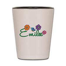Emilee Flowers Shot Glass
