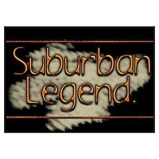 Suburban Legend Poster